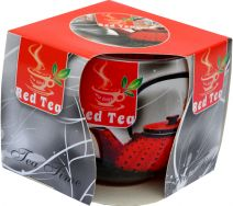 Świeca Szklanka Zapachowa - Red Tea