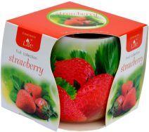 Świeca Szklanka Zapachowa - Strawberry
