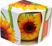 Świeca Szklanka Zapachowa - Sunflower