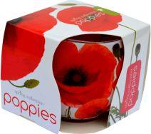 Świeca Szklanka Zapachowa - Poppies