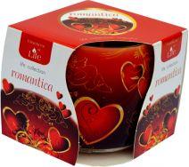 Świeca Szklanka Zapachowa - Romantica
