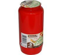 Wkład Olejowy Bolsius Czerwony - 5 Dni
