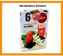 Podgrzewacze Zapachowe A'6 - Truskawka-Wanilia