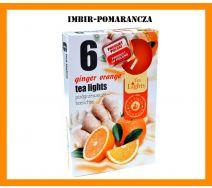 Podgrzewacze Zapachowe A'6 - Imbir-Pomarańcza
