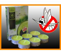 Maxi Tealight A'6 - Cytryna (Antykomarowe)