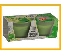 Świece zapachowe A'2 -zielone jabłko