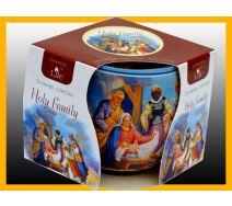 Świeca szklanka zapachowa HOLY FAMILY