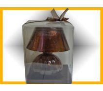 Lampka świecznik BRĄZ