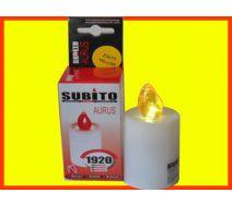 Wkład elektryczny żółty Aurus - 80 dni