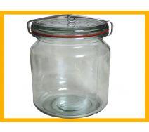 Słój 1,25 L weck+gumka+sprężyna