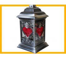 Znicz New Line katedra witraż serce srebro