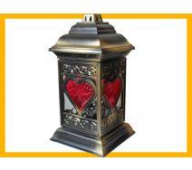 Znicz New Line katedra witraż serce złoto