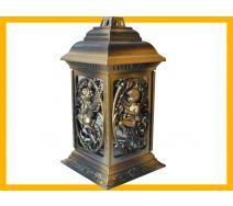 Znicz  Katedra Anioł w Raju złoto