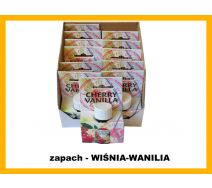 Olejek zapachowy -  Wiśnia-Wanilia 12 szt