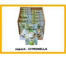 Olejek zapachowy - Cytryna (antykomarowe) 12 szt