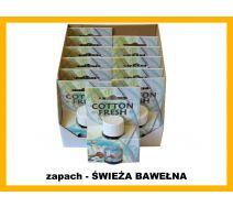 Olejek zapachowy - Świeża bawełna 12 szt