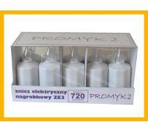 Wkład elektryczny biały 720 godz  KOMPLET 10 SZT