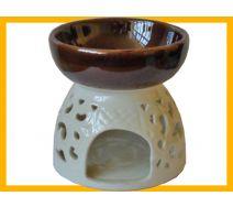 Kominek ceramiczny GIGANT ecru