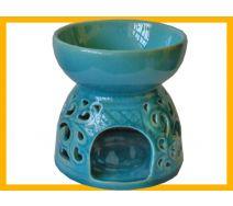 Kominek ceramiczny GIGANT turkus