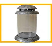 Znicz żywica Tuba M B APLK srebro