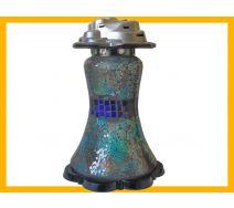Znicz Suknia Mozaika niebieski