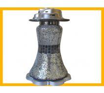Znicz Suknia Mozaika srebro