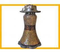 Znicz Suknia Mozaika złoto