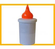 Wkład elektryczny S6 pomarańczowy
