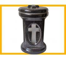 Znicz ceramiczny CER 2 CZ MAR +wkład