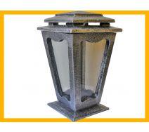 Znicz żywica L500 BAPLK srebro