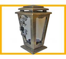 Znicz żywica L500 Róża złoto