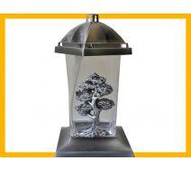 Znicz Twister mały srebro Drzewo