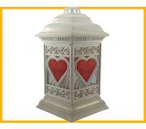 Znicz  Katedra serce biały