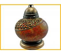 Znicz Waza Mozaika pomarańczowa+wkład
