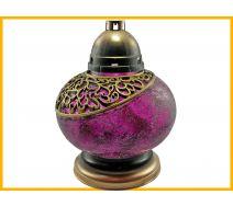Znicz Waza Mozaika fiolet+wkład