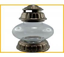 Znicz Ufo ceramika złoto