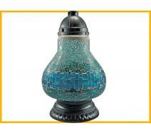 Znicz Karafa Mozaika niebieski