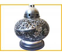 Znicz Waza Mozaika czarno-srebrna+wkład