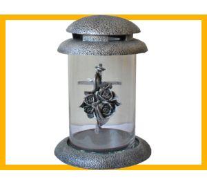 Znicz żywica Tuba M Krzyz srebro