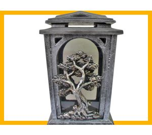 Znicz żywica L60 Drzewo srebro