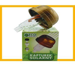 Kapturek solarny  7,2 cm złoto