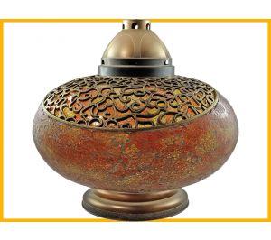 Znicz Waza Mozaika Gigant pomarańczowa+wkład