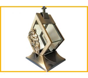 Znicz Kapliczka Karo Jezus złoto